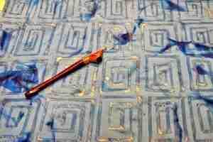batik resist - Lisa Jennings Art - Summer Workshop